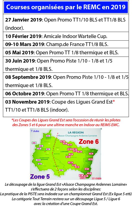 Calendrier Des Courses 2019.Calendrier Courses 2019 Reims Enduro Model Car